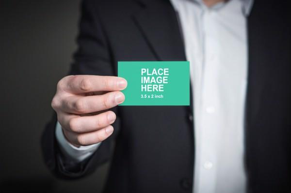 Visit card mockup