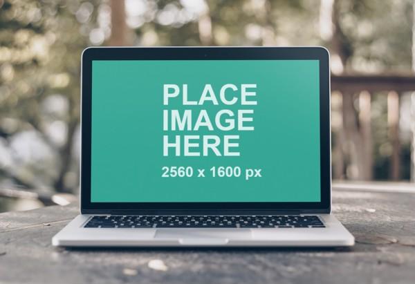 13 inch MacBook Pro mockup