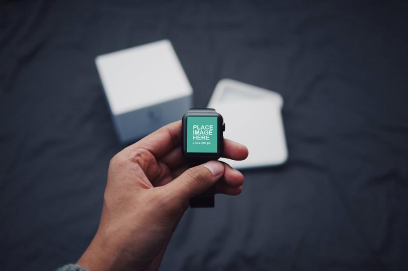 Apple watch 3 mockup