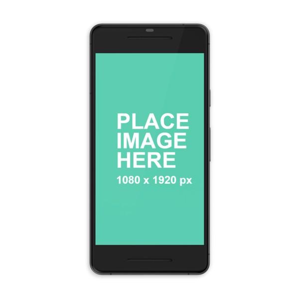 Black Google Pixel 2