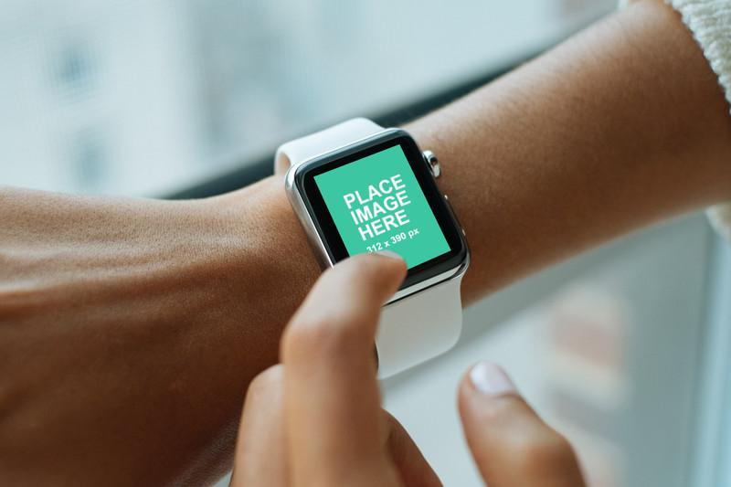 Apple Watch on womans wrist