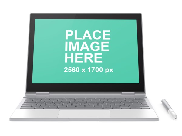 Front view of Google Pixelbook