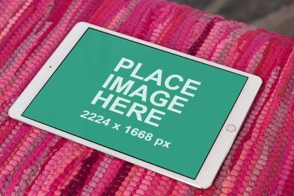 Landspace iPad Pro mockup