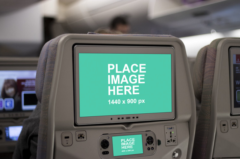 In flight seat monitor