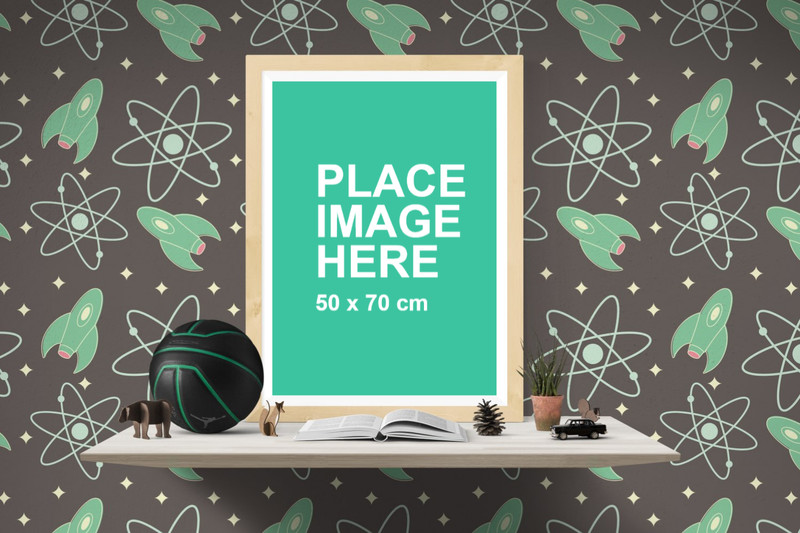 Kids room poster frame