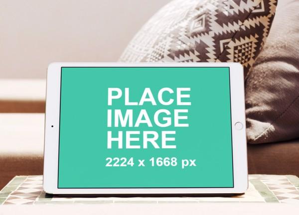Landscape iPad Pro