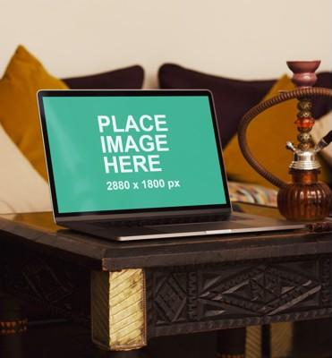MacBook Pro in arabic settings