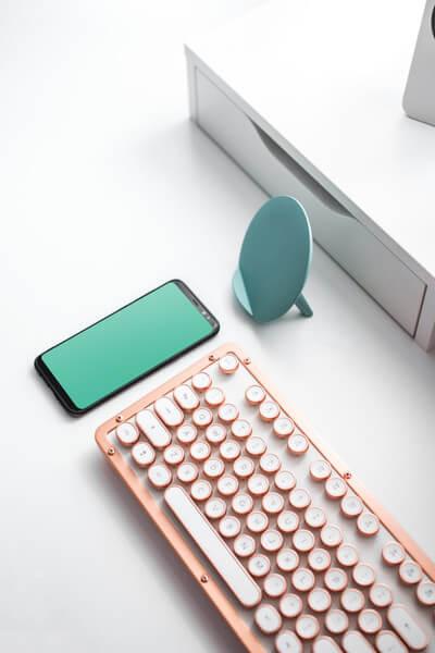 Samsung Galaxy and retro keyboard