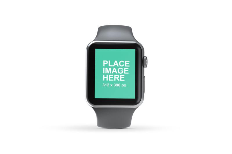 Silver Apple Watch 3