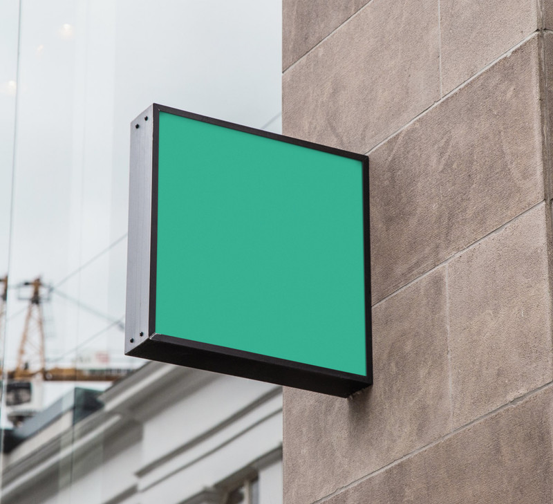 Square billboard