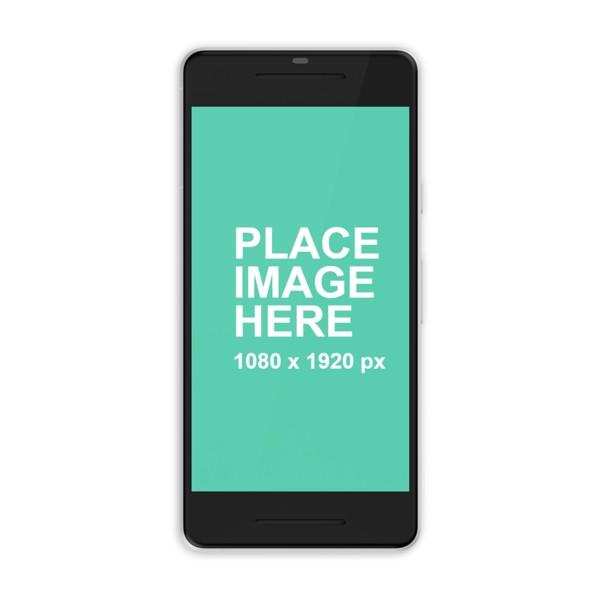 White Google Pixel 2